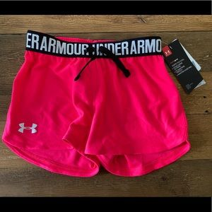Under Armour girls XS shorts NWT